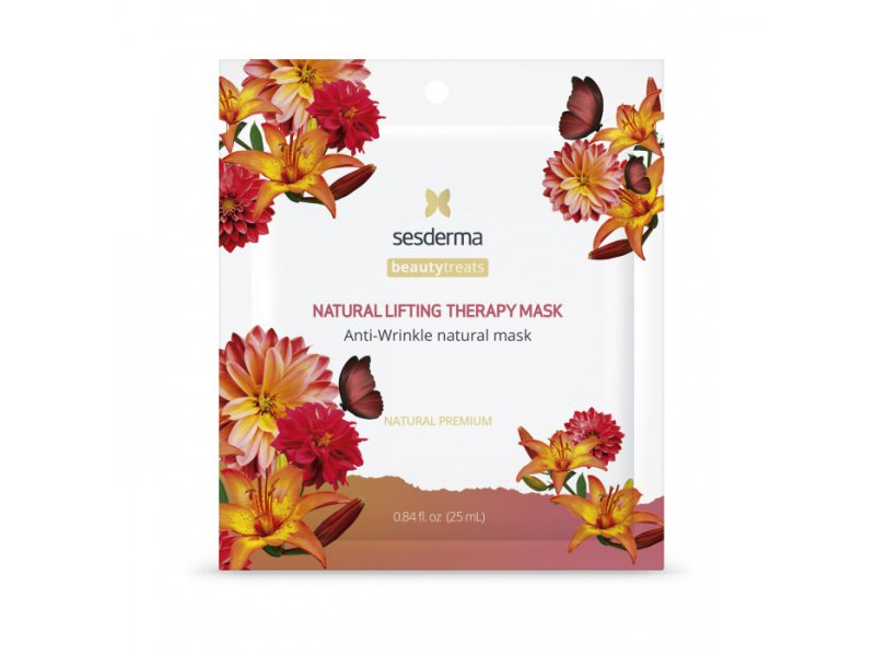 BEAUTY TREATS Natural lifting therapy mask - Маска антивозрастная для лица, 1 шт  Применение