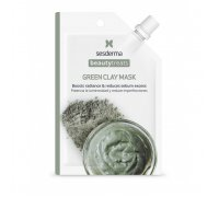 BEAUTY TREATS Green clay mask - Маска глиняная для лица, 25мл
