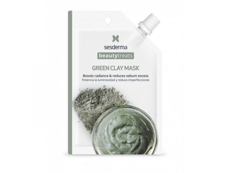 Sesderma BEAUTY TREATS Green clay mask - Маска глиняная для лица, 25мл