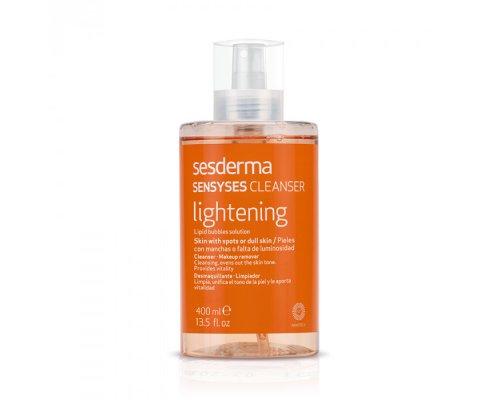 Лосьон липосомальный для снятия макияжа для пигментированной и тусклой кожи SENSYSES CLEANSER Lightening 400 мл