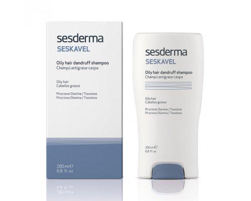 SESKAVEL Oily hair dandruff shampoo – Шампунь против перхоти для жирных волос, 200 мл