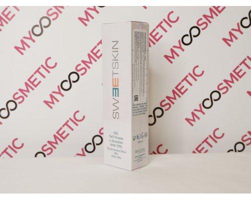 Sweet Skin System Gel Pelli Grasse ED Acneiche AHA 10% Гель для жирной кожи, 100 мл.