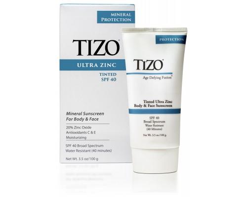 Крем солнцезащитный для лица и тела TiZO ULTRA Zinc SPF-40 Tinted 100 ml