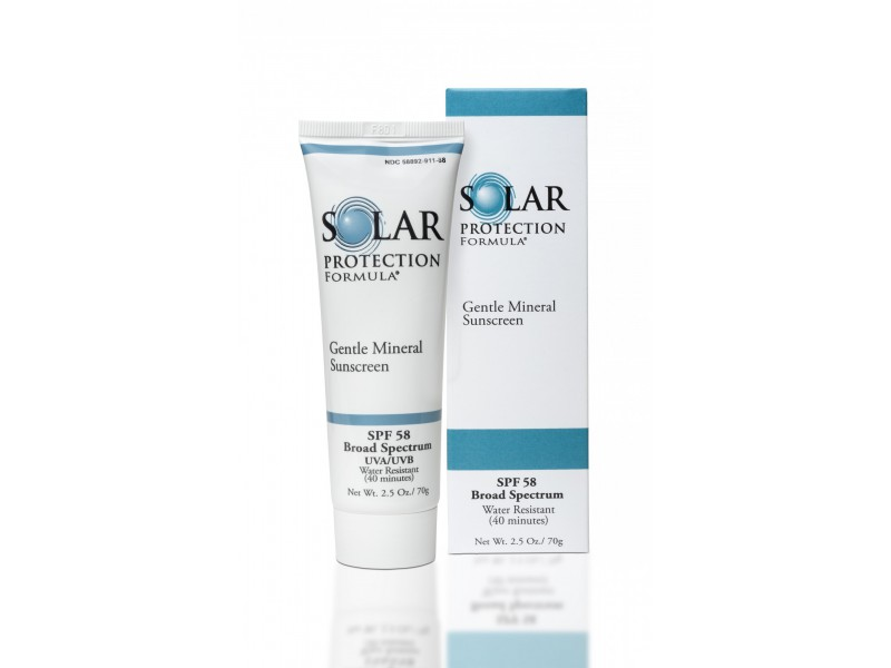 Крем солнцезащитный минеральный Solar Protection Formula SPF-58 70 ml  Применение