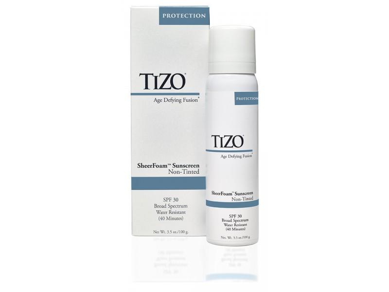 TIZO SheerFoam Non-Tinted Спрей солнцезащитный для лица и тела SPF 30