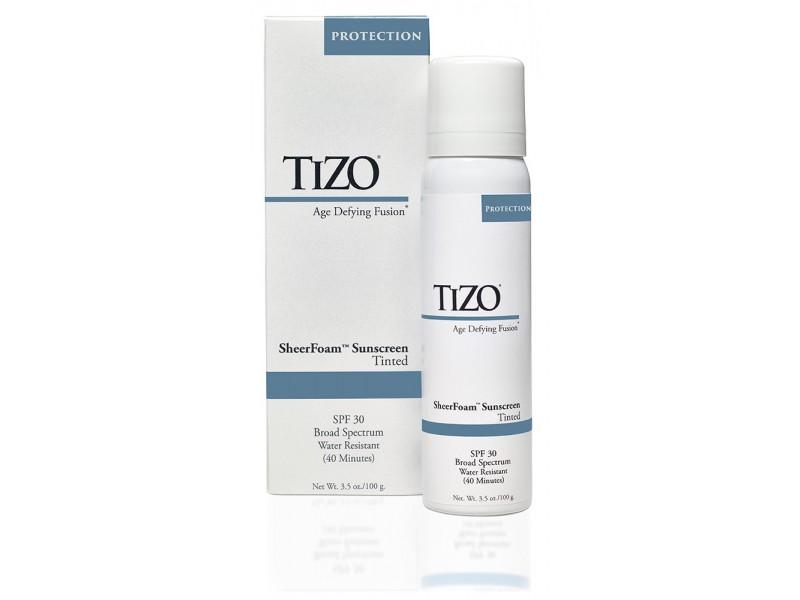 TIZO SheerFoam SPF 30 Tinted Спрей солнцезащитный для лица и тела