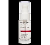 Увлажняющая восстанавливающая сыворотка для кожи лица 30 мл Comodex Hydrate & Restore Serum