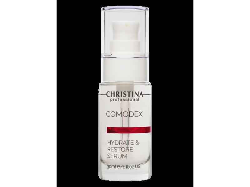 Увлажняющая восстанавливающая сыворотка для кожи лица 30 мл Comodex Hydrate & Restore Serum  Применение