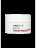 Интенсивный обновляющий ночной крем для лица и шеи 50 мл Chateau de Beaute Deep Beaute Night Cream  Применение