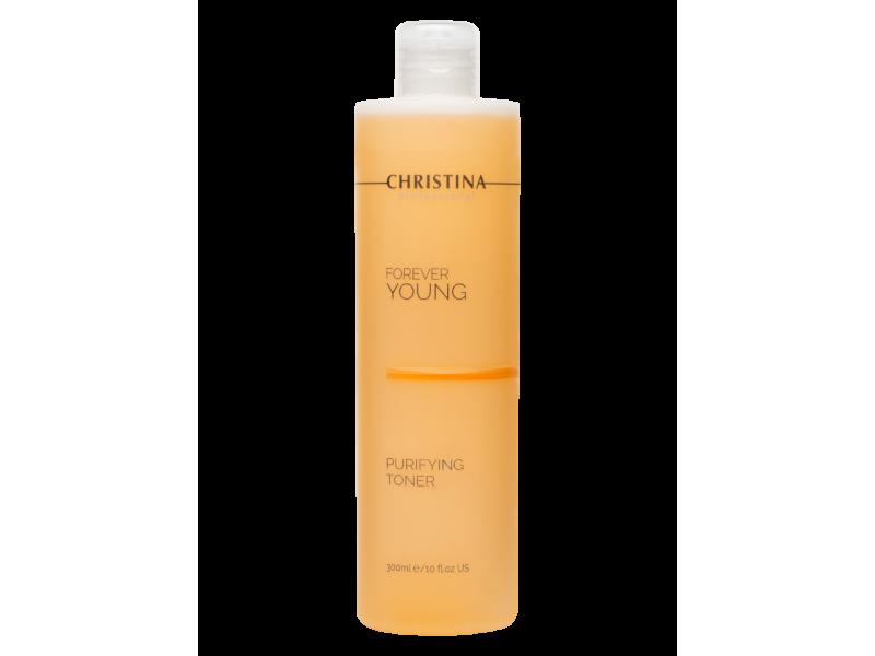 Очищающий тоник 300 мл Forever Young Purifying Toner pH 9,0-10,5  Применение
