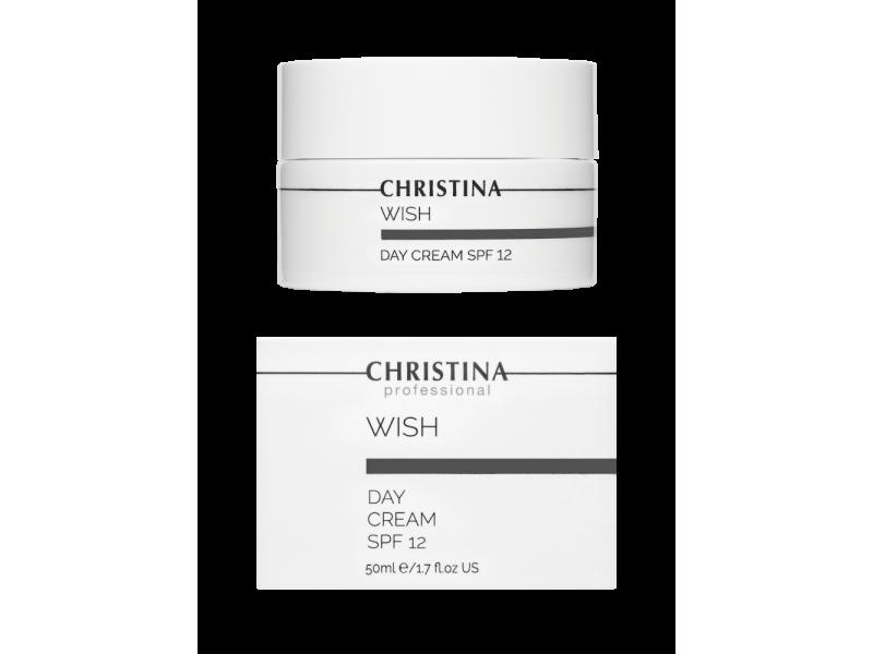Дневной крем с SPF 12 50 мл Wish Day Cream SPF 12  Применение