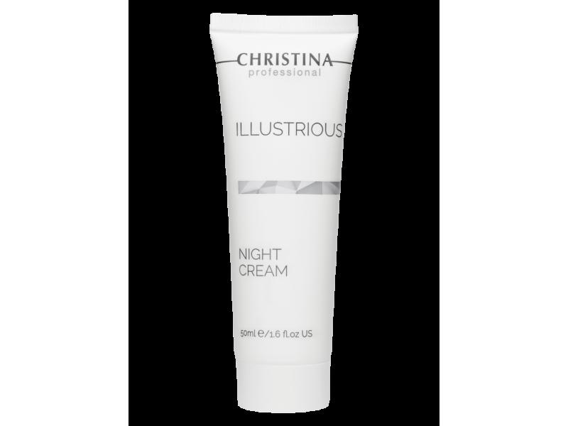 Обновляющий ночной крем 50 мл Illustrious Night Cream  Применение