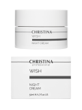 Ночной крем 50 мл Wish Night Cream  Применение