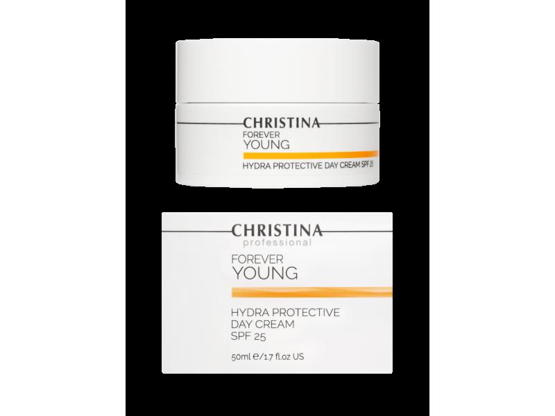 Дневной гидрозащитный крем SPF 25 50 мл Forever Young Hydra-Protective Day Cream SPF 25  Применение