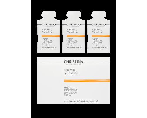 Дневной гидрозащитный крем SPF 25 в инд. саше 1,5 мл х 30 шт., 45 мл Forever Young-Hydra Protective Day cream SPF-25 sachets kit 30 pcs