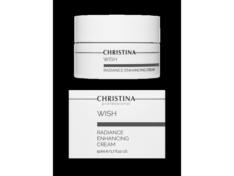 Крем для улучшения цвета лица 50 мл Wish Radiance Enhancing Cream  Применение