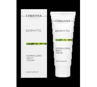 Нормализующий ночной крем для лица 75 мл Bio Phyto Normalizing Night Cream