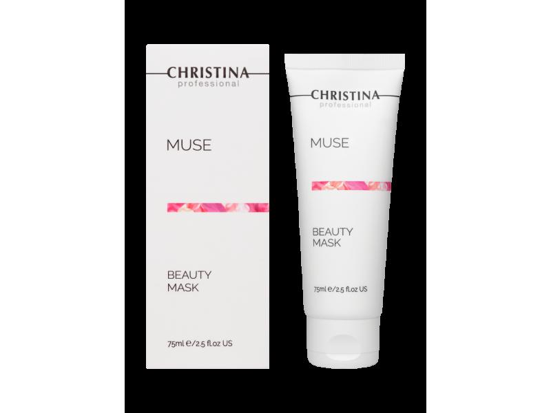 Маска красоты с экстрактом розы 75 мл Muse Beauty Mask  Применение