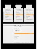 Ночной восстанавливающий крем в инд. саше 1,5 мл х 30 шт. 45 мл Forever Young-Repairing night cream sachets kit 30 pcs  Применение