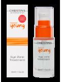 Гель для кожи вокруг глаз 30 мл Forever Young Eye Zone Treatment  Применение
