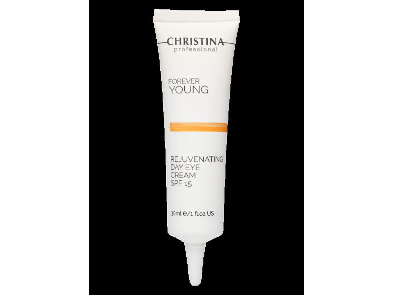 Омолаживающий дневной крем для кожи вокруг глаз SPF 15 30 мл Forever Young Rejuvenating Day Eye Cream SPF15  Применение