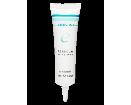 Christina Retinol E Active Cream Активный крем с ретинолом, 30 мл