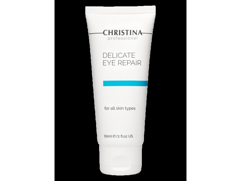 Крем для деликатного восстановления кожи вокруг глаз 60 мл Delicate Eye Repair  Применение