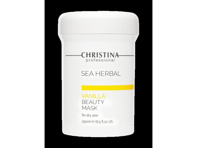 Маска красоты на основе морских трав для сухой кожи «Ваниль» 250 мл Sea Herbal Beauty Mask Vanilla for dry skin  Применение