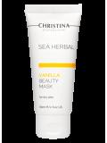 Маска красоты на основе морских трав для сухой кожи «Ваниль» 60 мл Sea Herbal Beauty Mask Vanilla for dry skin  Применение