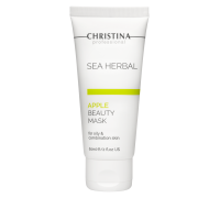 Маска красоты для жирной и комбинированной кожи «Яблоко» 60 мл Sea Herbal Beauty Mask Apple for oily and combination skin