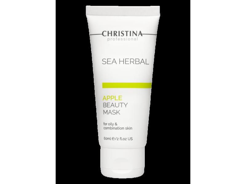 Маска красоты для жирной и комбинированной кожи «Яблоко» 60 мл Sea Herbal Beauty Mask Apple for oily and combination skin  Применение