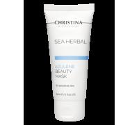 Маска красоты на основе морских трав для чувствительной кожи «Азулен» 60 мл Sea Herbal Beauty Mask Azulene for sensitive skin