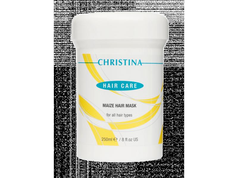 Кукурузная маска для всех типов волос 250 мл Maize Hair Mask for all hair types  Применение