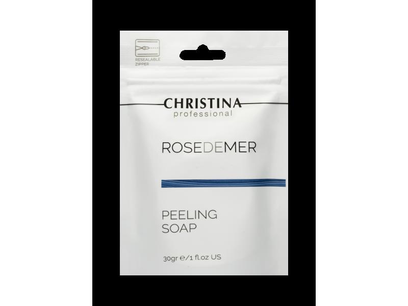 Пилинговое мыло 30 мл Rose de Mer Peeling Soap  Применение