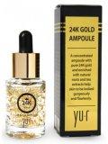 косметика Косметика Yu.r Сыворотка с золотом 24 К, 15 мл/ Premium 24K Gold Ampoule, Yu.r